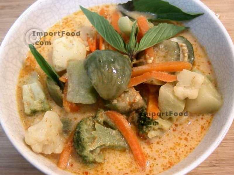 Thai Vegetable Eggplant Curry