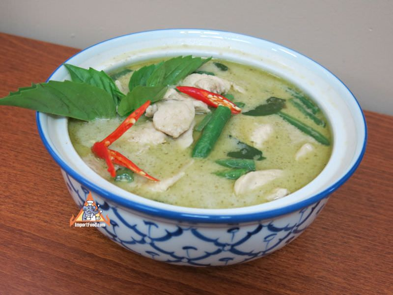 Thai Green Curry Chicken, 'Gaeng Khiao Wan Gai'