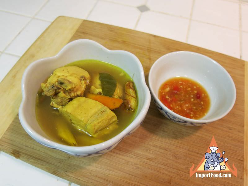 Turmeric Chicken Soup, 'Gai Tom Khamin'