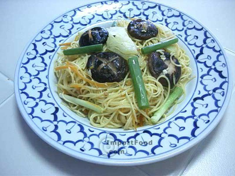 Stir-Fried Mee Sua Noodles (Vegetarian), 'Mee Sua Mangsawirat'