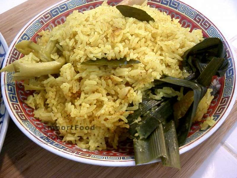 Festive Yellow Rice, 'Nasi Kuning'
