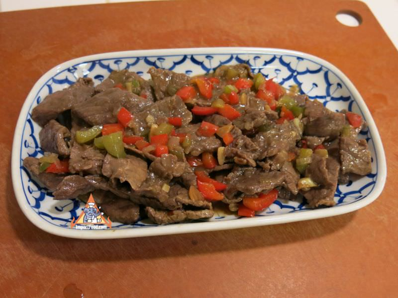 Thai Pepper Steak, 'Neua Pad Prik'