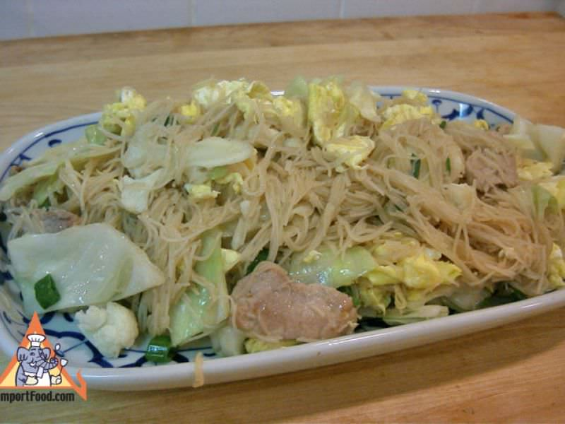 Thai Fried Vermicelli Noodle, 'Pad Mee'