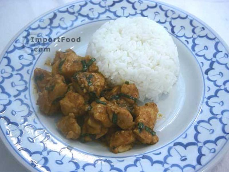 Panang Chicken Curry, 'Panang Gai'