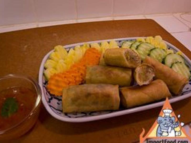 Thai Fried Spring Rolls,