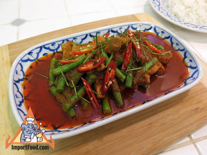 Pork Prik Khing, Pad Prik Khing Moo