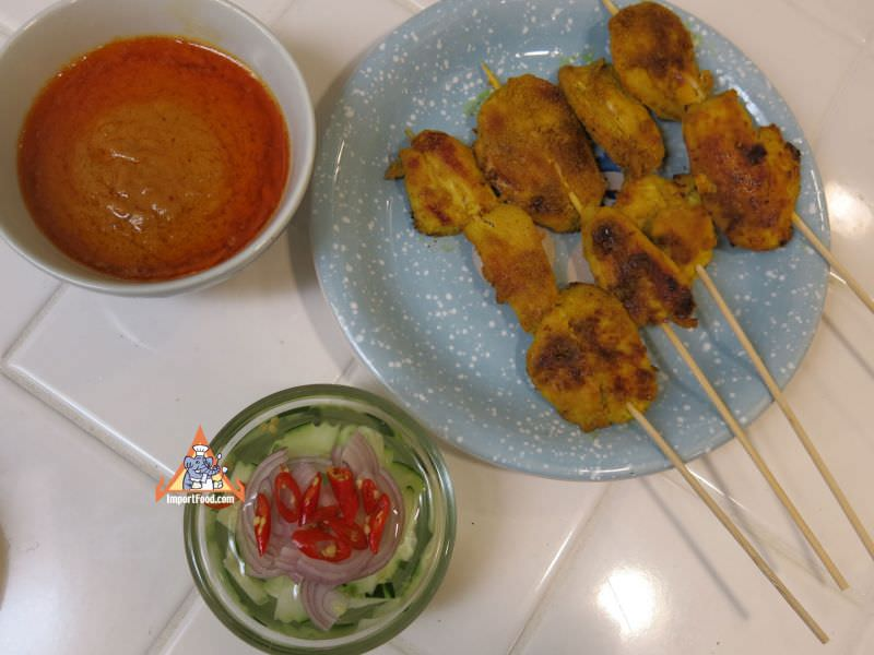 Chicken Satay,