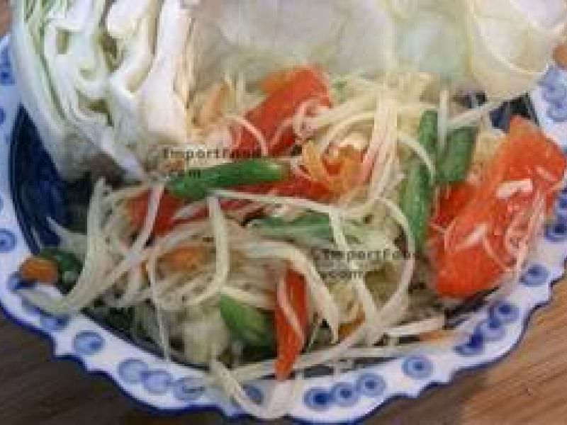 Thai Green Papaya Salad, 'Som Tum'