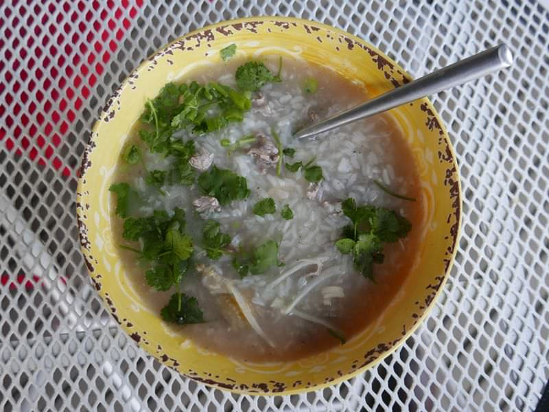 Thai Sweet Rice Congee Soup