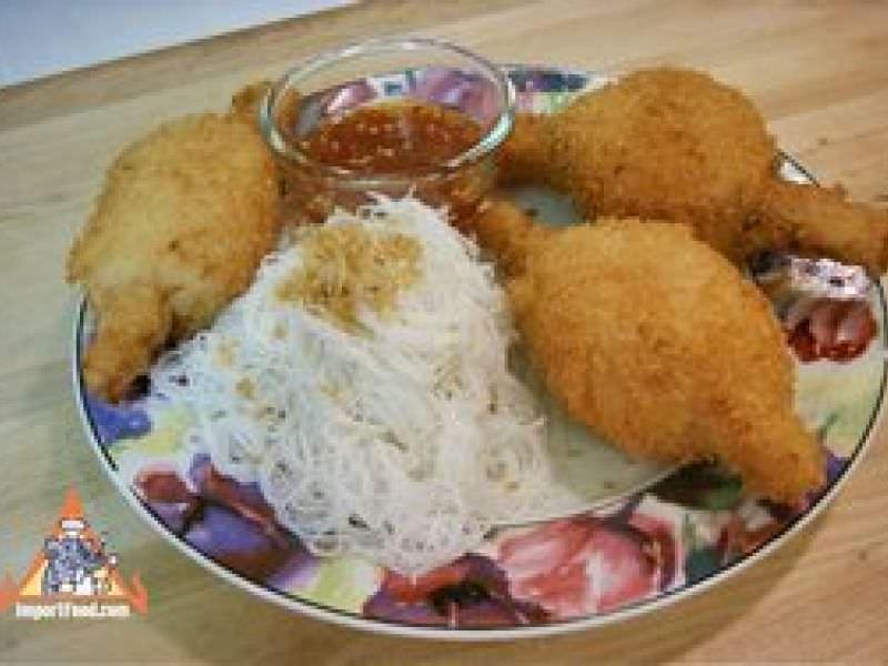 Thai Sugarcane Prawns, 'Goong Pan Oi'