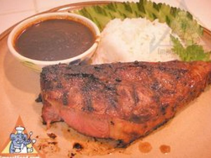 Thai Barbecue Pork with Lemongrass, 'Mu Yang Takrai'