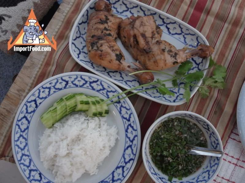 Thai Chicken with Hot-Sour-Salty-Sweet Sauce
