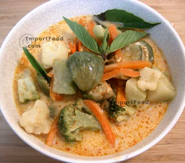 Thai Vegetable Eggplant Curry