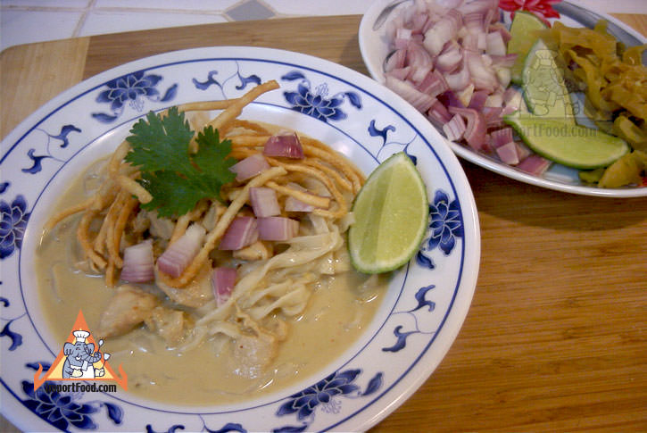 Chiang Mai Curry Noodles, 'Khao Soi'