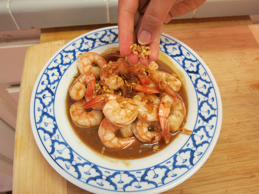 Stir-Fried Tamarind Shrimp,