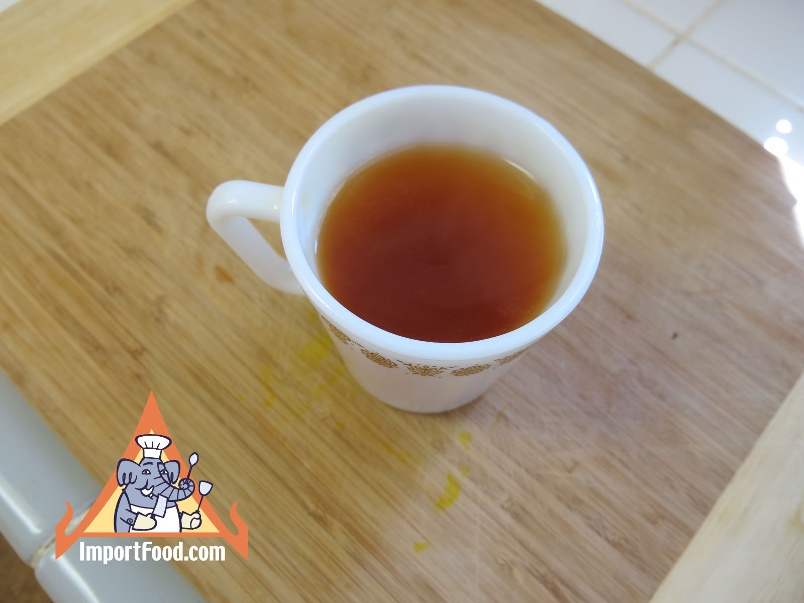 Fresh Turmeric Tea