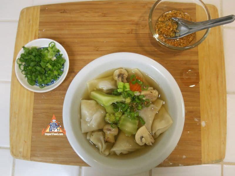Wonton Soup, Thai Style