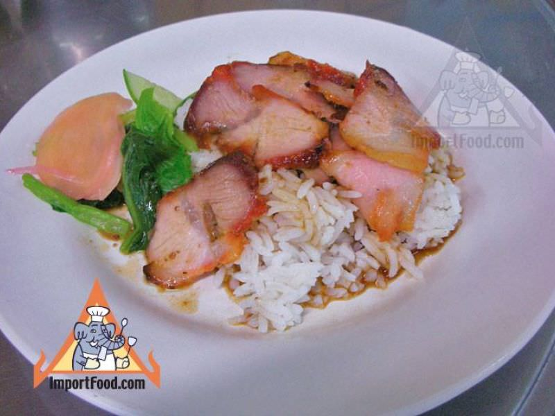 Thai Red Pork with Rice, 'Khao Mu Daeng'