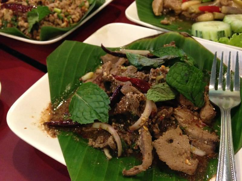 Thai Beef Flambe,