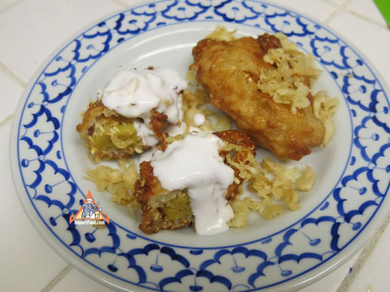 Khao Mau Tod - Young Rice Fried Banana Fritters