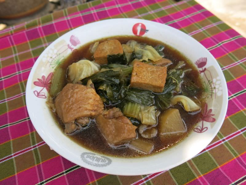 Thai Vegetable Stew, 'Tom Jabchai'