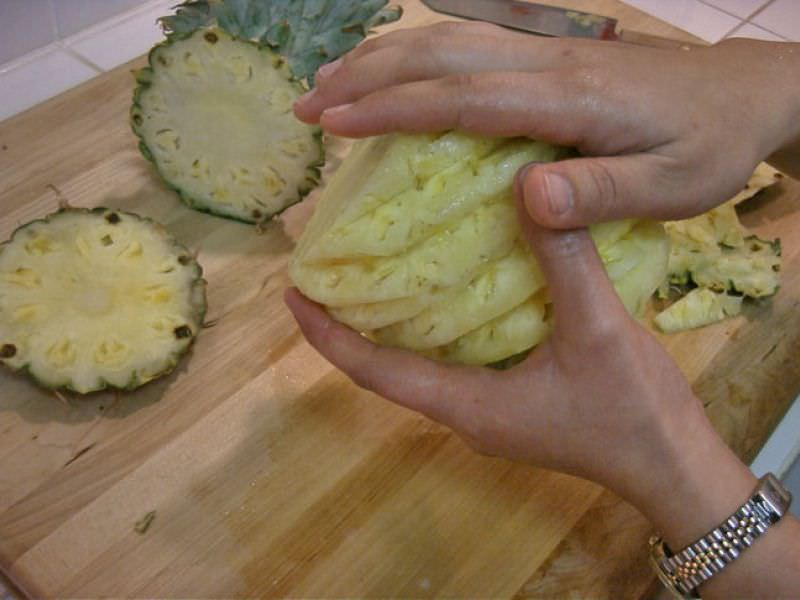 How to Peel and Slice Fresh Pineapple