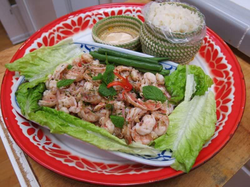 Thai Sushi, 'Pla Koong'