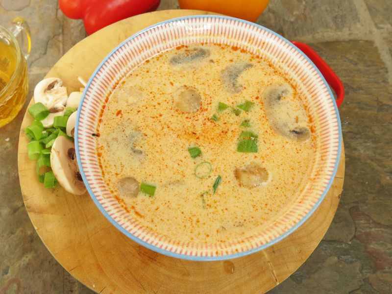 Tom Kha Soup w/Tom Yum Paste