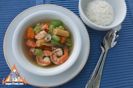 Thai Vegetable Soup, 'Kaeng Liang'