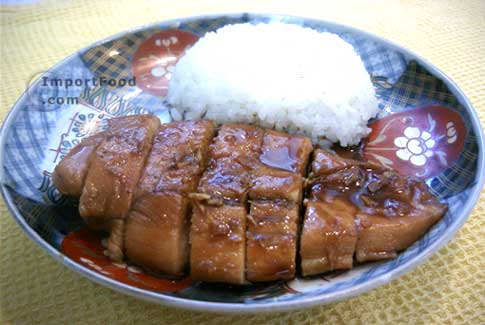 Teriyaki Chicken - Japanese Style