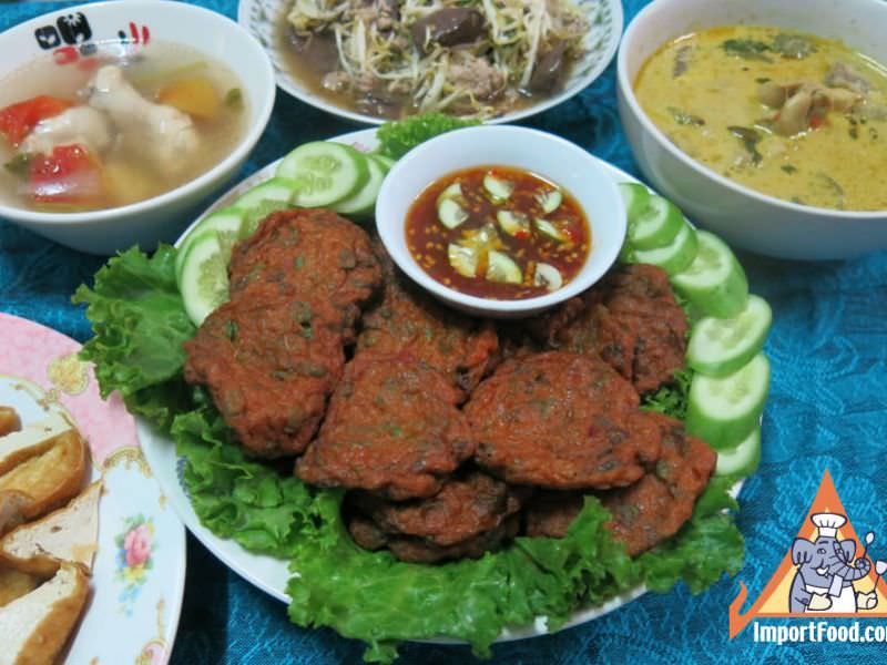 Spicy Thai Fish Cakes,