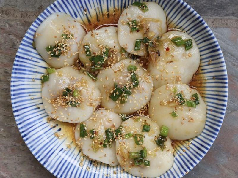 Dumplings w/Pork Shrimp Ginger Sesame