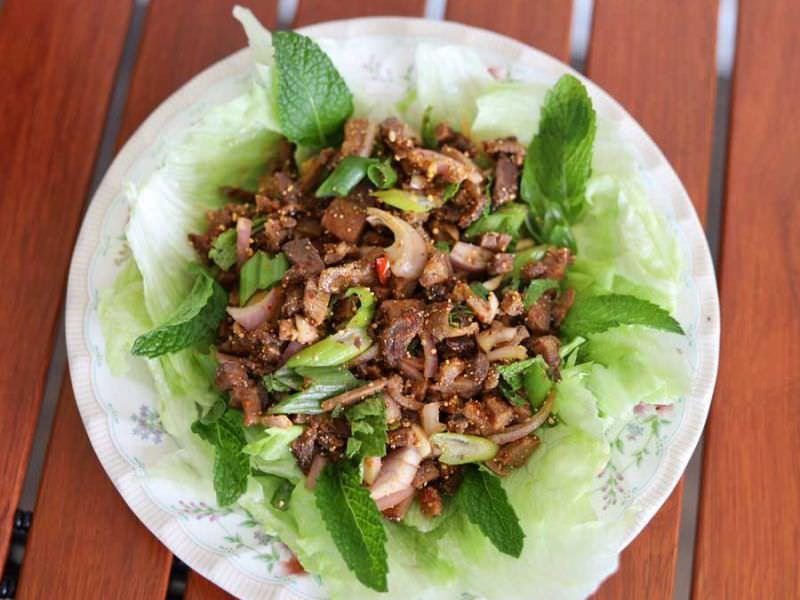 Thai Beef Namtok Salad