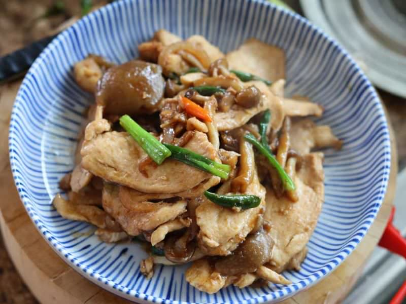 Ginger Chicken, 'Gai Pad Khing'