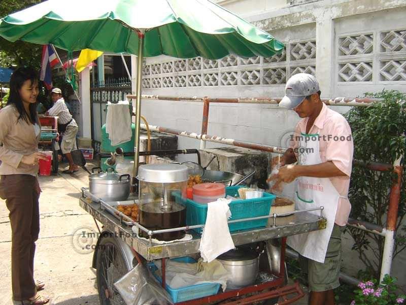 Thai Fried Tofu, Taro and Corn Cakes