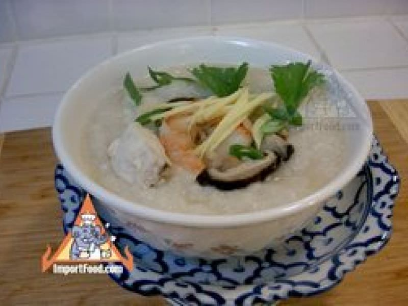 Thai Congee, Rice Porridge, Seafood