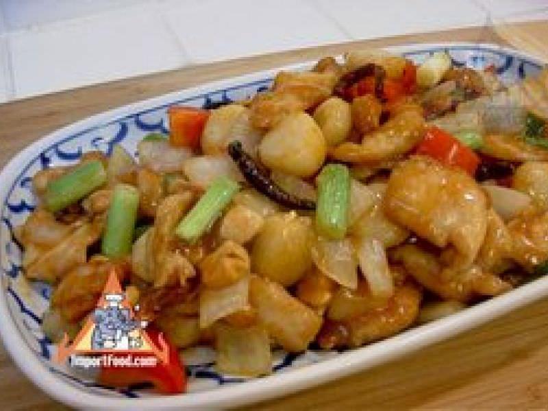 Thai Cashew Chicken, 'Gai Pad Med Mamuang Himaphan'