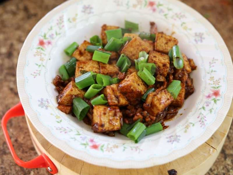 Japanese Mabo Tofu Pork