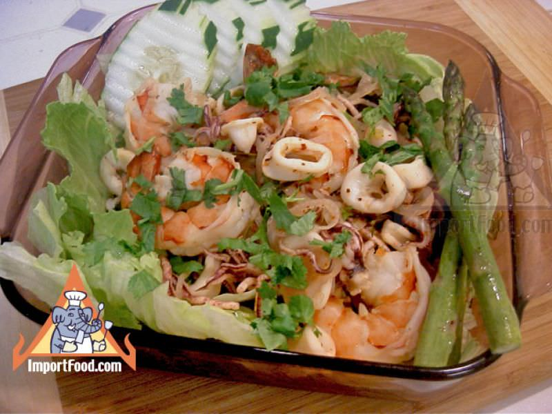 Thai Seafood Salad,