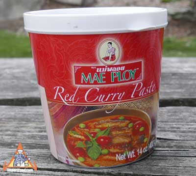 Mae Ploy Brand Red Curry Paste