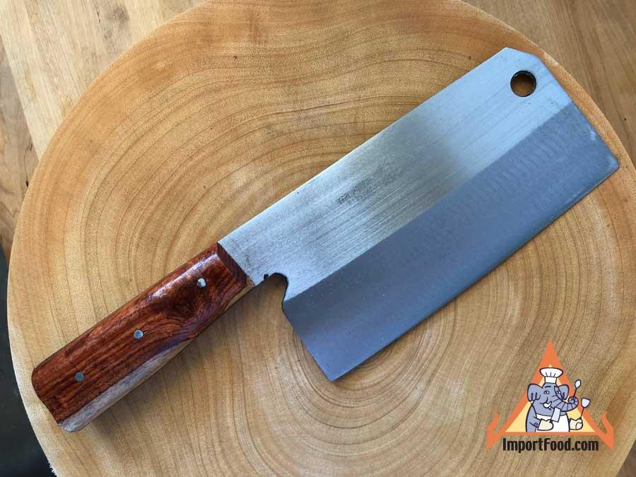 Handmade Thai Heavy Cleaver 12 Quot Importfood
