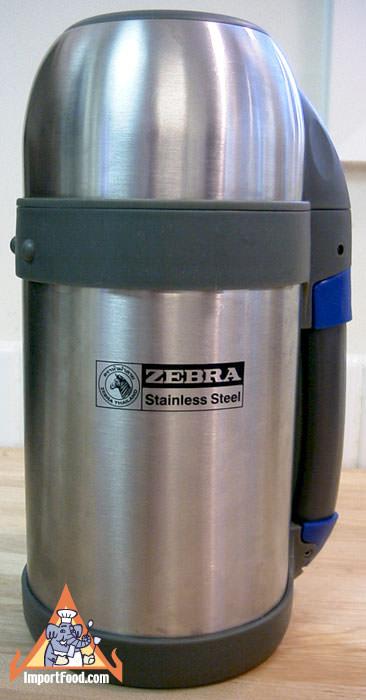 Stainless Steel Thermos Zebra Brand Importfood