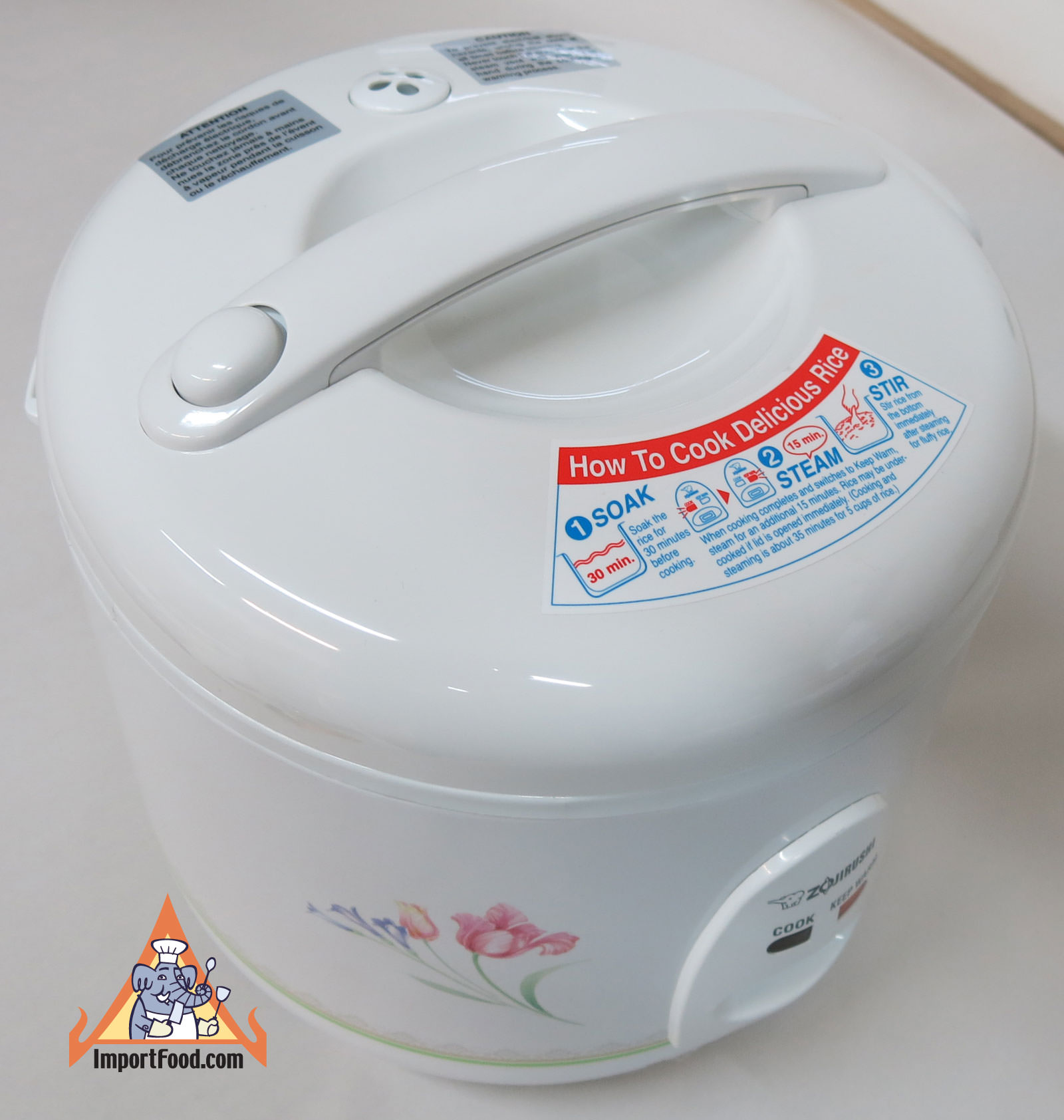 Rice Cooker, Zojirushi, 55 Cup 10 Cup :: Importfood
