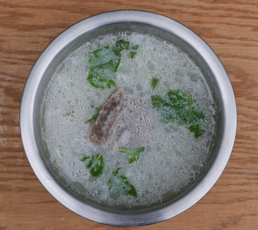 Bone Soup With Rice