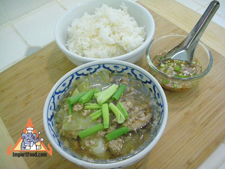Bean vermicelli soup with pork tom jude woonsen