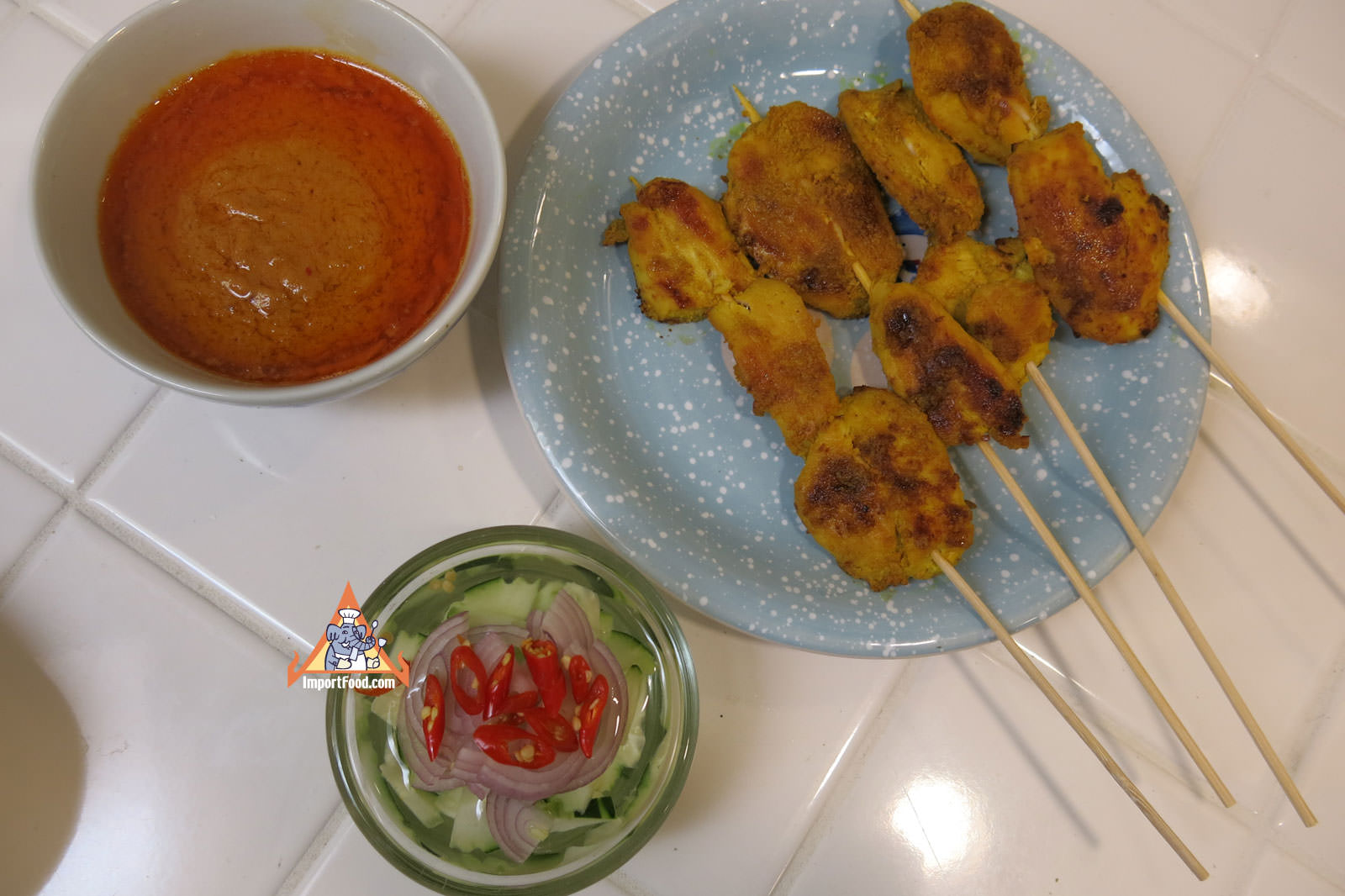 Version 1 satay gai enjoy