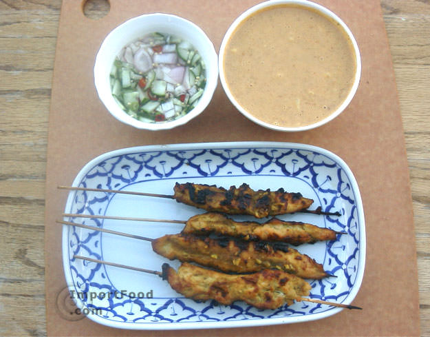 Version 2 satay gai enjoy