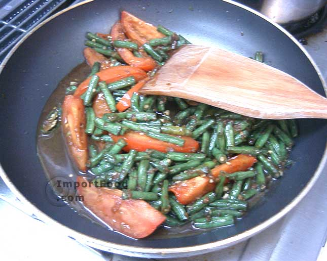 Fry with longbeans