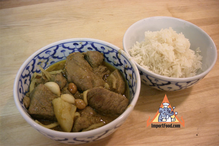 Northern thai pork curry gaeng hanglay