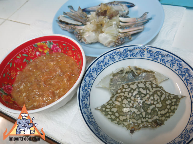 Thai Steamed Crab